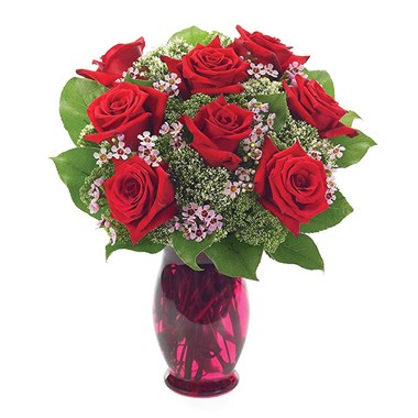 Rose garden flower bouquet (BF120-11)